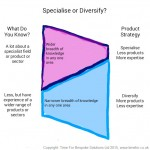 Sales Strategy - Specialise or Diversify?