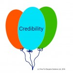 Credibility – One Prick & It's Gone!